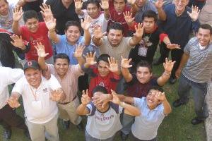 CONVIVENCIA DE JSF, PASCUA 2007 EN EL SEM. J.B. SCALABRINI EN CD. DE MÉXICO