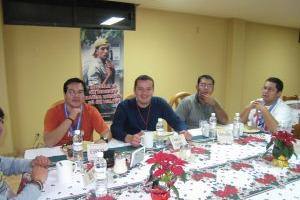 Convivencia de Navidad 2007 en Cd. de México