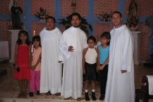 Mision en la capilla de San Rafael