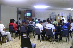 Postulantes en Tijuana