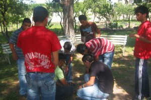 Segundo día de Convivencia Vocacional de Pascua en Guadalajara, Jal. 2010.