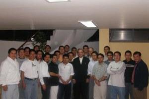Visita del Obispo Scalabriniano Jacir Braido al seminario de México