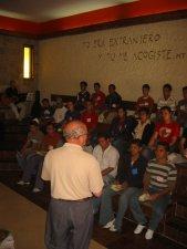 Comenzamos nuestro Encuentro con un momento de oración con Cristo, el Misionero del Padre.
