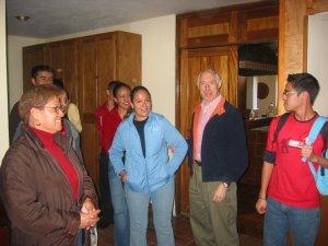 Tuvimos la visita de los Familiares del Seminarista Álvaro.
