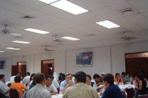 Reflexionamos el tema sobre la Eclesialidad del equipo diocesano de Pastoral Vocacional