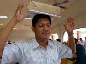 Gracias al equipo diocesano de Tuxpan, magnifica organización<br />