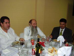 El P. Flor con el Diputado y laico Scalabriniano Andrés de Chiapas juntos en la defensa de los derechos del migrante