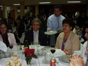 La Sra. Ester laica Scalabriniana y el Lic. Salvador grande amigo scalabriniano y defensor de los derechos humanos. Es miembro de la CNDH.