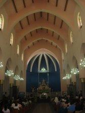 Interior del Templo Parroquial.