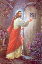 Señor, te pido que, pasando por mi puerta, te detenga.