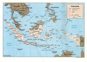 En la lejana Asia, en Indonesia...