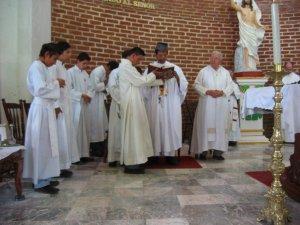 Oración después de la comunión.