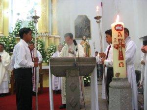 Proclamación del Evangelio: unidos a Cristo como los sarmientos a la vid.<br />