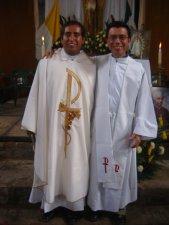 Dos valientes y entregados Misioneros de Cocula.