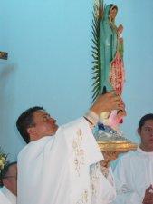 Imagen de Nuestra Señora de Guadalupe.