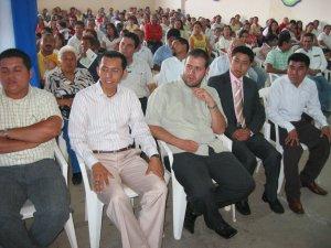 Estaban presentes los Seminaristas de los Seminarios Scalabrinianos de México.