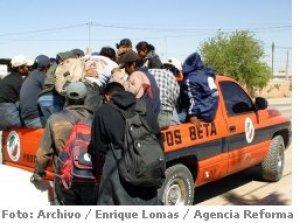 a los Migrantes se haga menos doloroso su camino.<br/>