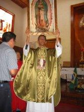 Que la Virgen de Guadalupe acompañe al Padre Mauro por los caminos del mundo.