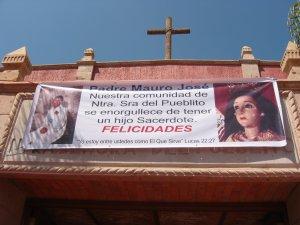 Doble Fiesta este Domingo 5 de Octubre. Cantamisa de Acción de Gracias del Padre Mauro...