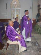 Finalizando la Eucaristía el Padre Tomás dio unas palabras de acción de gracias a Dios y de agradecimiento a todos los presentes.