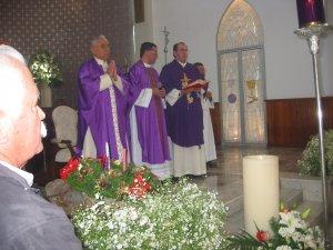 Cominezo de la Santa Misa de Acción de Gracias del Padre Tomás.