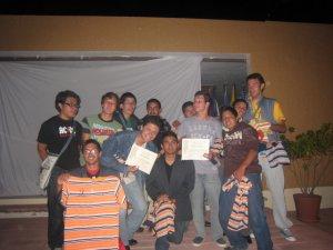 Ganadores de los concursos y juegos.... FELICIDADES CHAVOS...