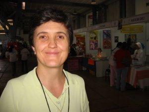 La Hermana Laura de las Misioneras Xaverianas, una de las organizadoras de la Expo Misionera.