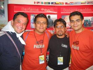Los de rojo son jóvenes de El Refugio-Tala, Jal.