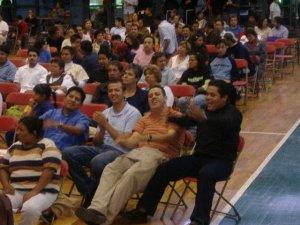 Seminaristas Scalabrinianos disfrutando de este momento