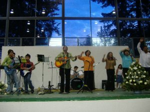Aldo Blanco canta-autor de San Luis Potosi también dijo presente