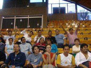 Los scalabrinianos de Guadalajara presentes con su alegría