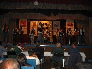 """El Grupo """"Fusión Trinitaria"""", representante de la Diócesis de Aguascalientes, Ags., propuso el Canto: """"La Familia del Señor""""."""