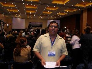 P. Fausto ecónomo del seminario participó con entusiasmo y alegría<br />