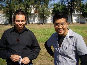 Los filósofos José Antonio y Efraín.