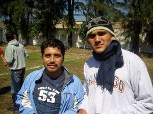 Noviciado y propedéutico se reunen, Candelario y Fernando.