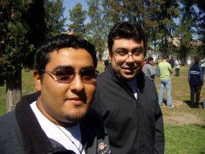 Fieles representantes de Colombia  hermano William y Wilson.