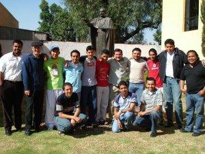 Los JSF que nos acompañaron desde Poza Rica, Ver.