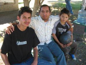 Tuvimos la visita de Héctor de Cocula, Jal. Religioso Estudiante de Teología en Buenos Aires, Argentina.