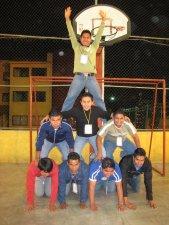 Nuestras piramides manifiestan los deseos de hacer equipo
