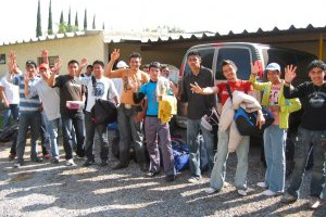 CONVIVENCIA DE NAVIDAD  2007 JSF SEMINARIO SAN CARLOS GUADALAJARA, JAL.