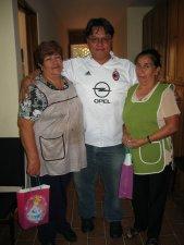 Un gracias sincero a Doña Raquel y a Doña Rita por su labor tan importante en la cocina.