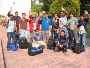 ¡HASTA LA CONVIVENCIA DE PASCUA 2009! del 14 al 18 de Abril.