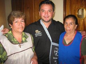 Un GRACIAS a las cocineras Raquel y Rita.