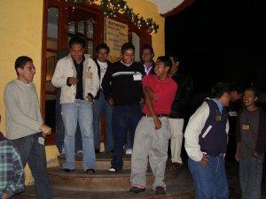 hemos iniciado nuestra convivencia de Navidad 2006<br />