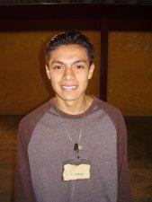 Con la participación de jóvenes de Cd. de México como Christian