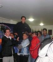 CONVIVENCIA DE NAVIDAD EN EL SEMINARIO JUAN BAUTISTA SCALABRINI DE MÉXICO, D.F.
