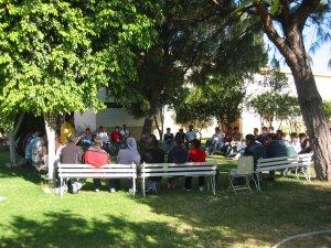 Los Padres nos dieron unas  muy profundas Pláticas sobre la Vocación y la Migración.