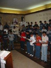 Tuvimos intensos momentos de oración.