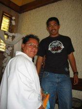 Un gracias a los Seminaristas que nos acompañaron.