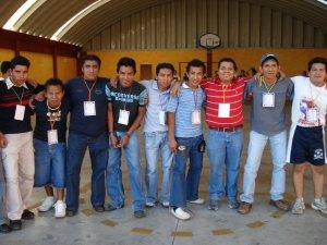Chavos de diversas partes del sur de la República Mexicana